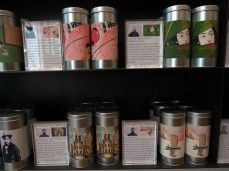 The maker's name and location is displayed on each of the 60 teas as well as the blends