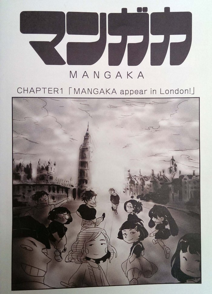 Ch.1 MANGAKA Appear in London