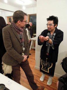 Riusuke Fukahori talks about his work